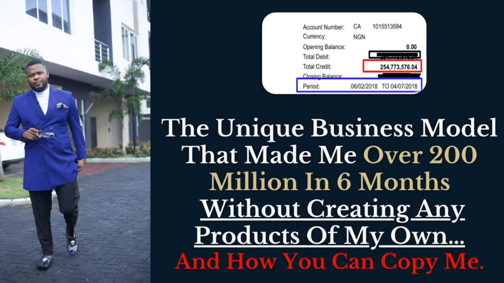 SECRET STRATEGY ON HOW I MADE 200 MILLION IN 6 MONTHS ONLINE AND HOW YOU CAN COPY ME.